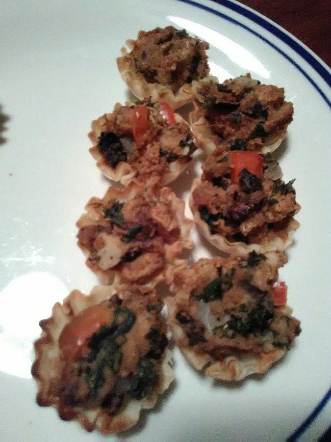 Mini Mushroom Puffs
